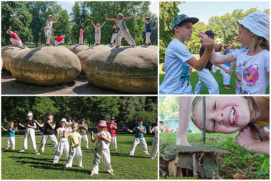 Natur-Camp für Kinder in Graz